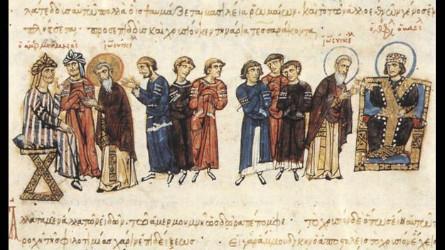 Dissertationsprojekt von Jakub Sypiański (Byzantinistik):